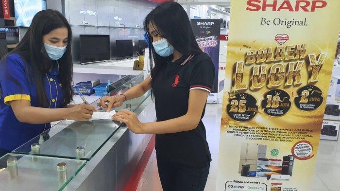Sambut Hari Jadi yang Ke-51, Sharp Berbagi Keberuntungan dengan Para Pelanggan Setia