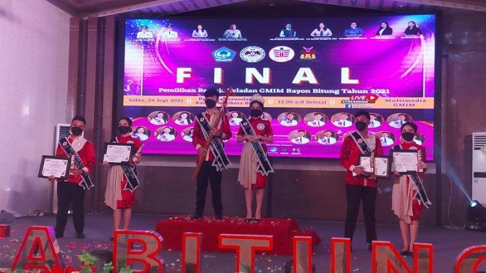 Shine Palit dan Megumi Mamalu Terpilih Sebagai Putra Putri Retel GMIM Rayon Bitung