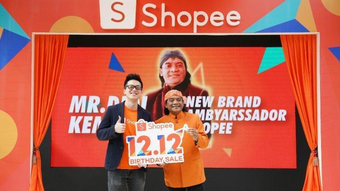 Shopee Gelar 'Shopee 12.12 Birthday Sale', Gandeng Didi Kempot sebagai Brand Ambassador