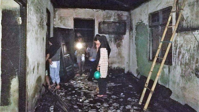 Si Jago Merah Lalap Rumah di Tanoyan Milik Saprudin