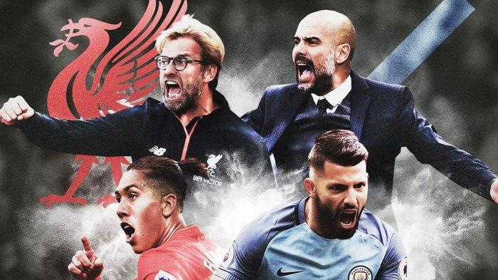 Jadwal Liga Inggris Pekan 38, Pertandingan Penentuan Gelar Juara Manchester City dan Liverpool