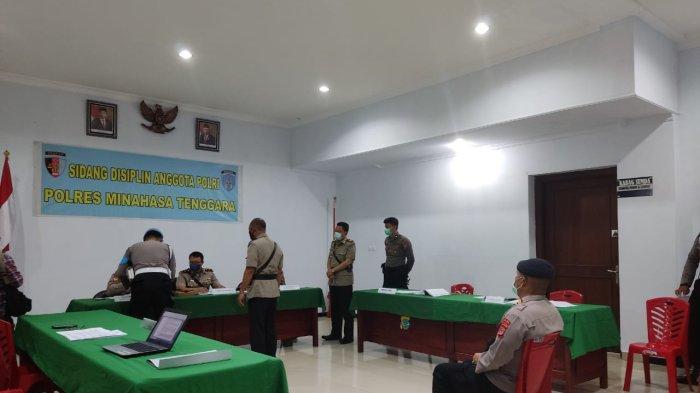 BREAKING NEWS Sidang Disiplin Oknum Perwira Polres Mitra Berlangsung Tertutup