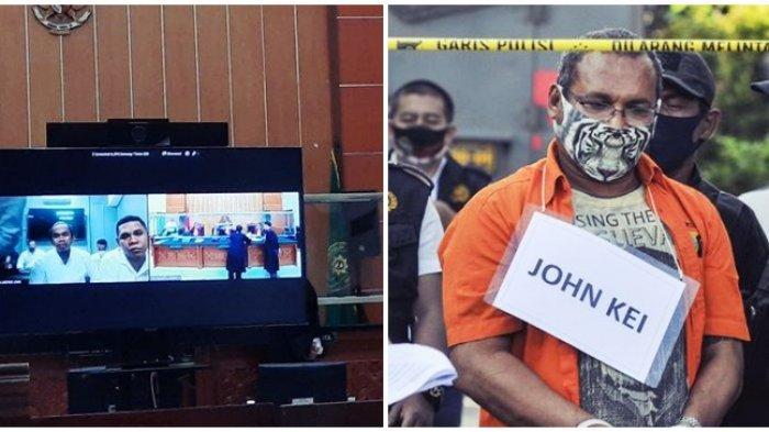 Sidang John Kei 'Panas', Terdakwa Tak Mau Jawab Soal Kasus Pembunuhan, Hakim Sampai Tarik Nafas