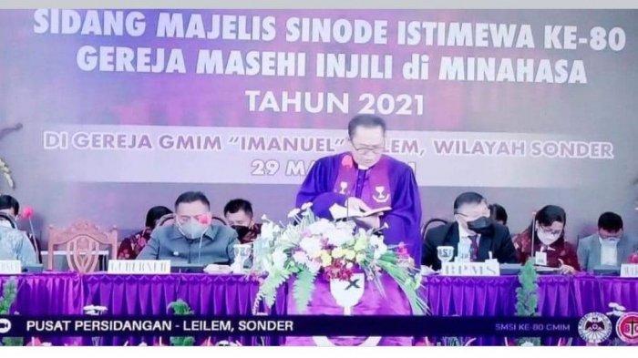 BREAKING NEWS GMIM Gelar Sidang Majelis Sinode Istimewa ke-80 di 56 Wilayah, 1.746 Peserta