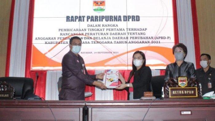 Prinsip Efisiensi Dasari RAPBD Minahasa Tenggara 2021