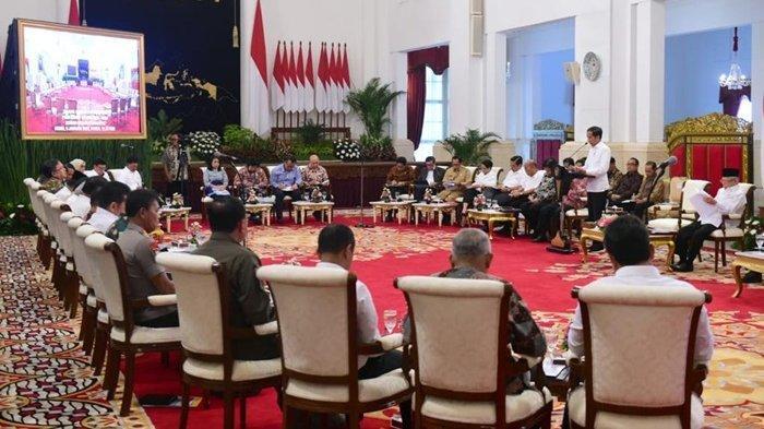 Sidang Kabinet Paripurna Pertama 2020, Jokowi Instruksikan pada Jajaran Pemerintah Agar Bertindak