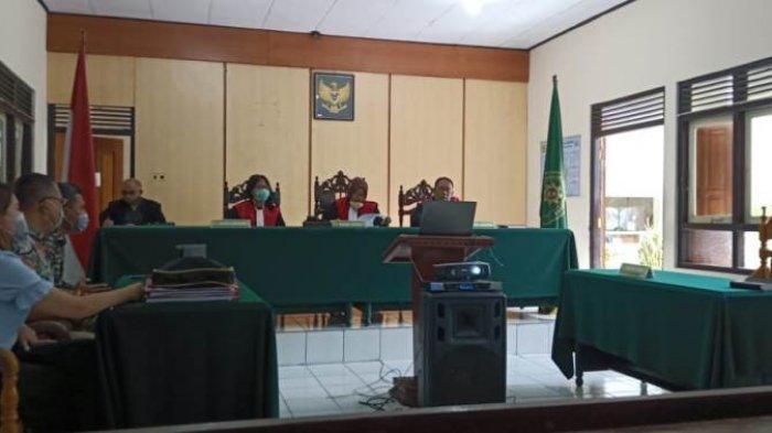 Gugatan Chrissolid Disidangkan, Wali Kota Tomohon, Kasatpol PP dan Tergugat Lainnya Mangkir