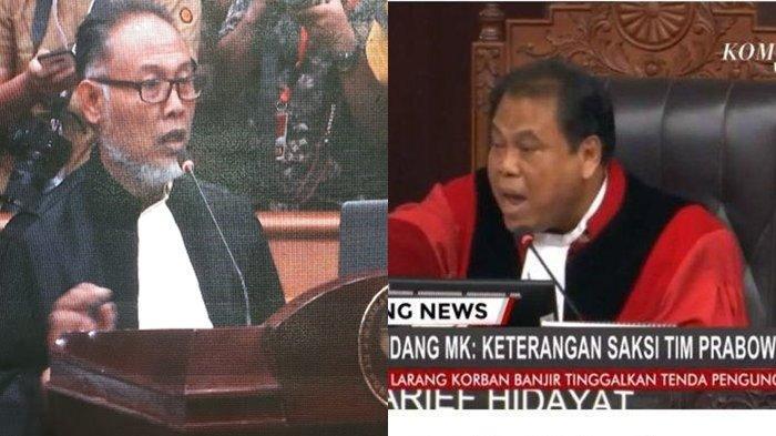 Detik-detik Bambang Widjojanto Diancam Dikeluarkan Hakim MK, Saksi 02 Tak Bersedia, Ini Videonya