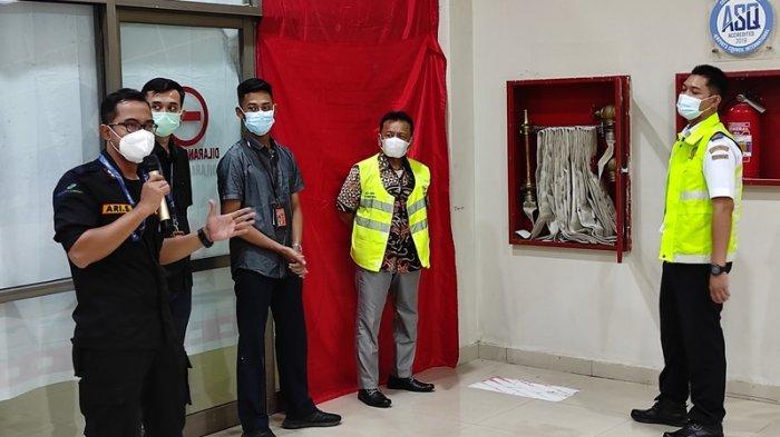 Bandara Samrat Manado Edukasi Pencegahan Kebakaran dan Keadaan Darurat ke Mitra Usaha