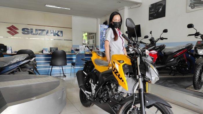 Rata-rata 50-60 Unit Sepeda Motor Suzuki Terjual Tiap bulan