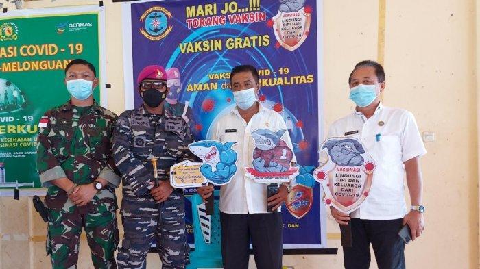 Serbuan Vaksinasi di Kabupaten Talaud Oleh TNI dan Pemerintah Daerah