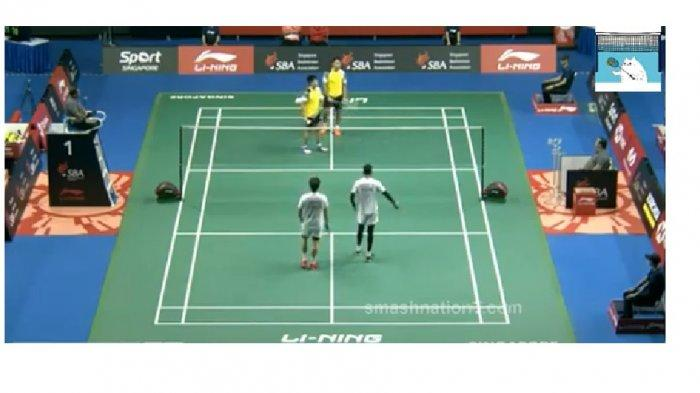 VIDEO Live Streaming Singapore Open 2019 (10/4/2019): Ada 17 Wakil Indonesia, Tonton 5 Link di Sini