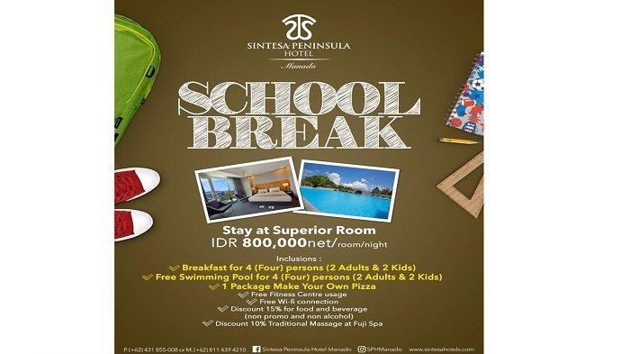 Promo Liburan Sekolah Sintesa Peninsula Hotel, Cek Yuk !