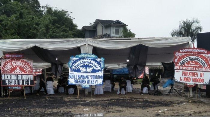 Kondisi Terkini Lokasi Jelang Pemakaman Sinyo Harry Sarundajang di Minahasa, Tonton Live Facebook