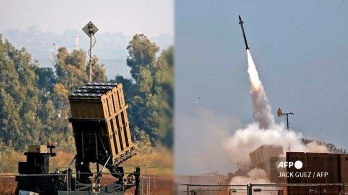 Israel Negara Kaya Raya, Harga Sistem Pertahanan Iron Dome Fantastis, 1 Roket Saja Rp 2,15 Miliar