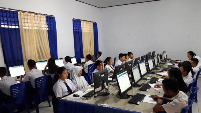 UNBK, SMP N 1 Sediakan Enam Komputer Cadangan