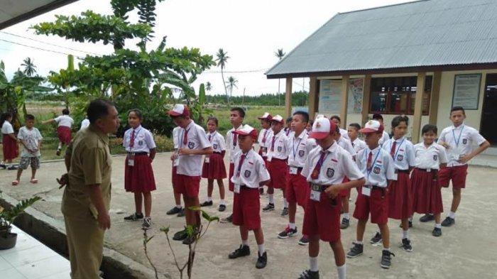 2210 Siswa SD dan SMP Ikut Ujian Nasional