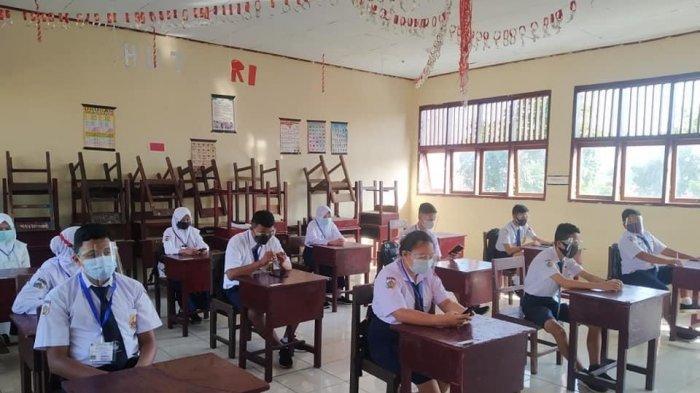 SMP di Kotamobagu Ujian Sekolah Serentak