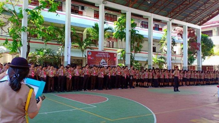Penutupan Pendaftaran LTMPT, Siswa SMA Negeri 1 Manado 100 Persen Ikut Mendaftar