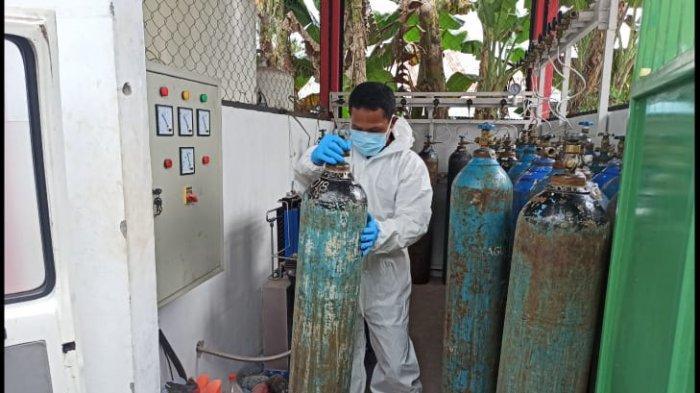 Dinkes Sitaro Pastikan Stok Oksigen Aman, Sudah Produksi Oksigen Sendiri