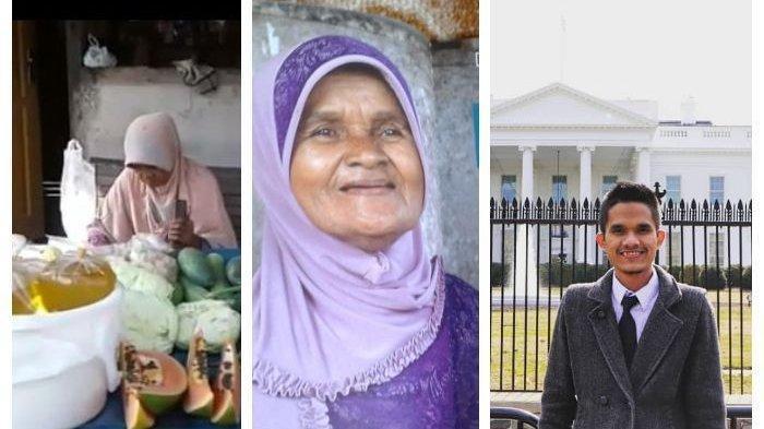 Kisah Siti Narimah, Penjual Sayur Buta Huruf, Sukses Bawa Putranya Kuliah ke AS: Orang Tua Hebat
