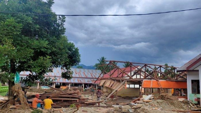 Penanganan Pasca Banjir di Desa Batu Merah Jadi Fokus Pemkab Bolmong