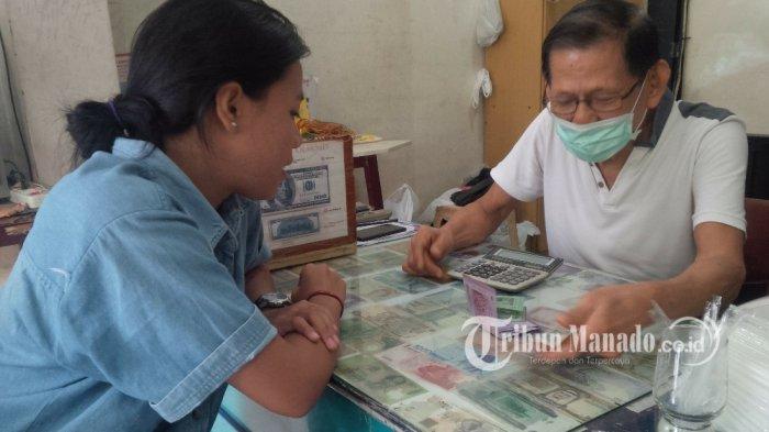 Penukaran dan Pembelian USD di Manado Masih Normal, Ko Willy Sebut Ini Manado, Bukan Jawa