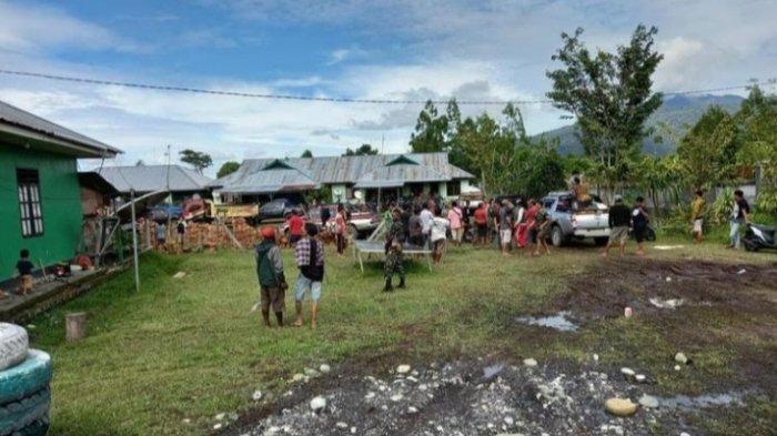 1.025 Warga Yalimo Dikawal TNI-Polri Mengungsi ke Wamena setelah Massa Erdi Dabi Amuk 115 Motor