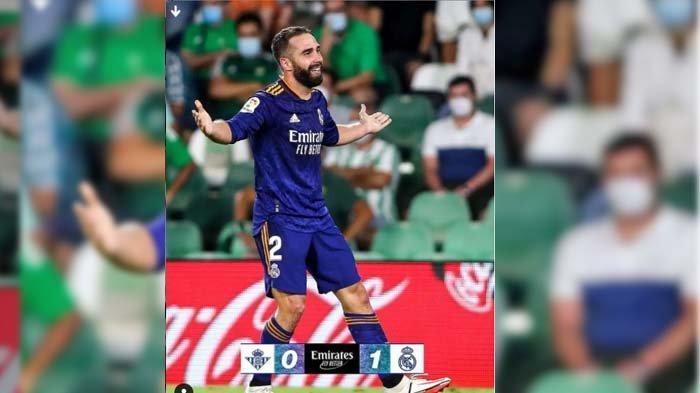 HASIL Liga Spanyol Real Betis vs Real Madrid, Los Blancos Taklukan Tuan Rumah, Menang Tipis 0-1