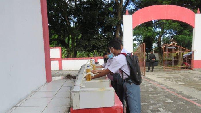 SMK Negeri 1 Airmadidi Minut Gelar Pembelajaran Tatap Muka