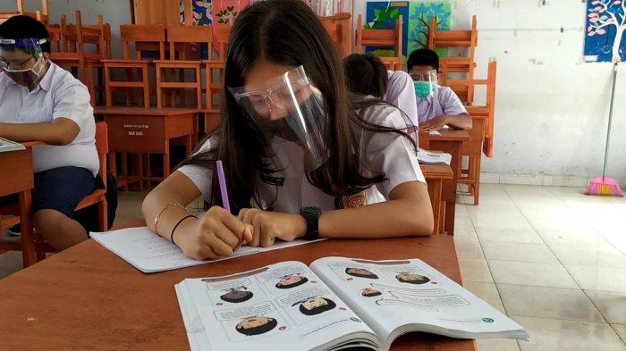 SMP Negeri 4 Kotamobagu Sudah Sekolah Tatap Muka, Tapi Wajib Protokol Kesehatan
