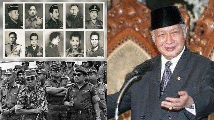 Soeharto dan Pahlawan Revolusi yang Dibunuh <a href='https://manado.tribunnews.com/tag/g30s' title='G30S'>G30S</a> <a href='https://manado.tribunnews.com/tag/pki' title='PKI'>PKI</a>