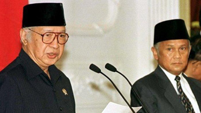 Isi Pidato Lengkap Pengunduran Diri Soeharto 21 Mei 1998: Sulit Bagi Saya Menjalankan Tugas