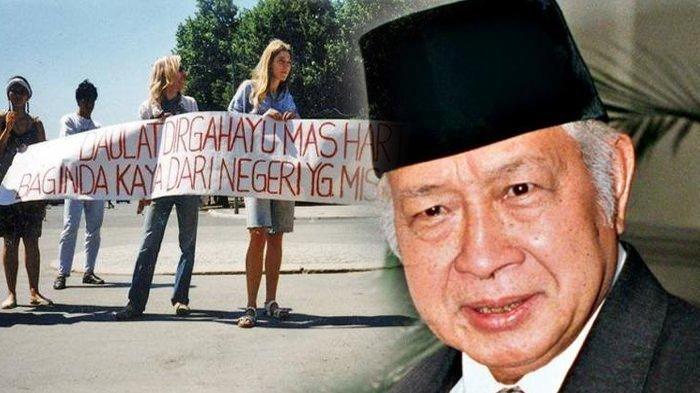 Sosok Pria yang Bongkar Soal Harta Triliunan Simpanan Soeharto hingga Kenangan Celana Usang