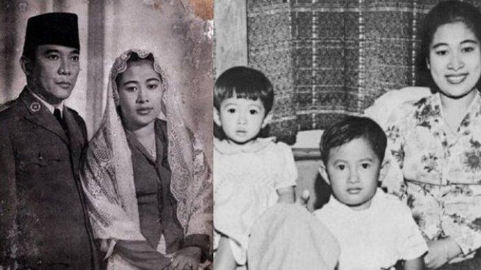 Dari 9 Istri Presiden Soekarno, Hanya Wanita Ini yang Menemaninya Hingga Meninggal Dunia