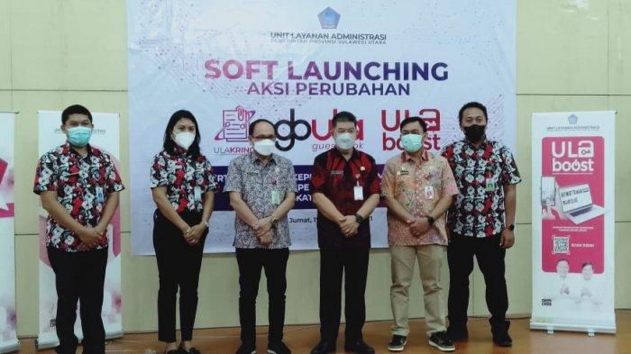 Pemprov Sulut Soft Launching 3 Aplikasi Inovasi Layanan Administrasi, Berikut Fungsinya