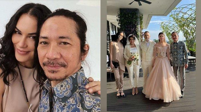 Intip Kedekatan Sophia Latjuba dan Abdee Slank di Pernikahan Michael Villareal, Bikin Salfok!