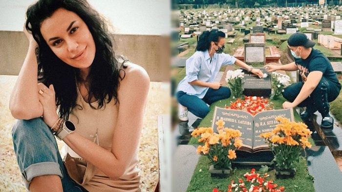 Sophia Latjuba Unggah Foto di Makam Keluarga, Gelar Bangsawan pada Nama Neneknya Jadi Sorotan