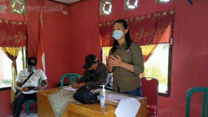 Sosialisaai DP3 yang dilaksanakan KPU Sitaro di Kampung Kalihiang.