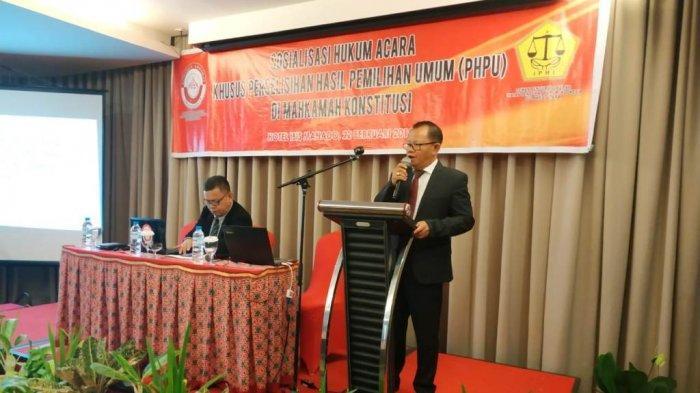 Dihadiri Ratusan Advokat, KAI Sulut Gelar PHPU Mahkamah Konstitusi