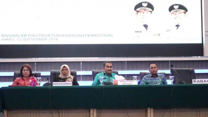 Pemkot Manado Gelar Sosialisasi Penyusunan Standar Pelayanan Perkotaan Tahun 2019