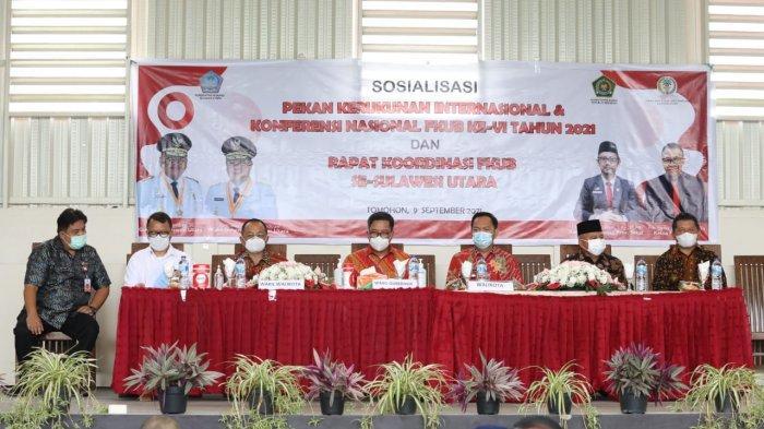 Sosialisasi Event Pekan Kerukunan Internasional dan Konferensi Nasional FKUB Ke-VI