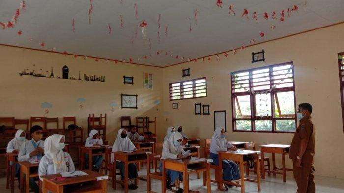 Siswa SMA/SMK di Kabupaten Bolsel Ikut Sosialisasi Penerimaan Sekolah Tinggi Intelijen Negara