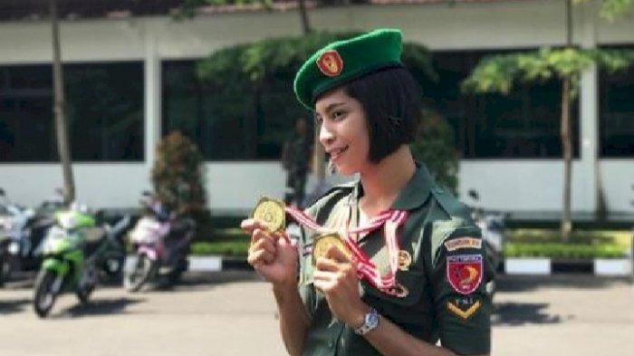 Sosok Alvina Tehupeiory, Atlet Cantik Indonesia di Olimpiade Tokyo, Dikenal sebagai Anggota TNI