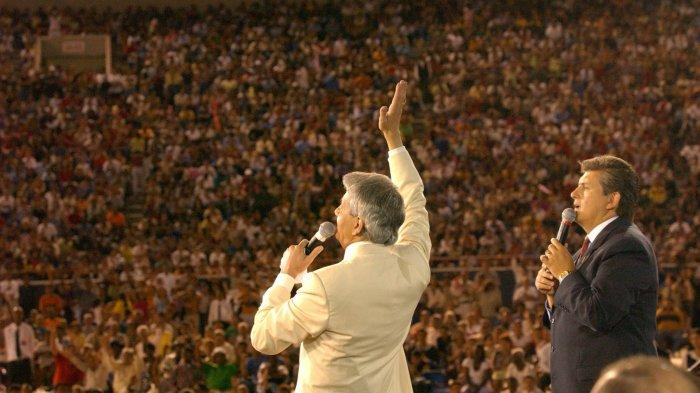Sosok Benny Hinn, Pendeta yang Diurapi Dengan Kuasa Tuhan, Tanpa Kompromi Lakukan Penginjilan