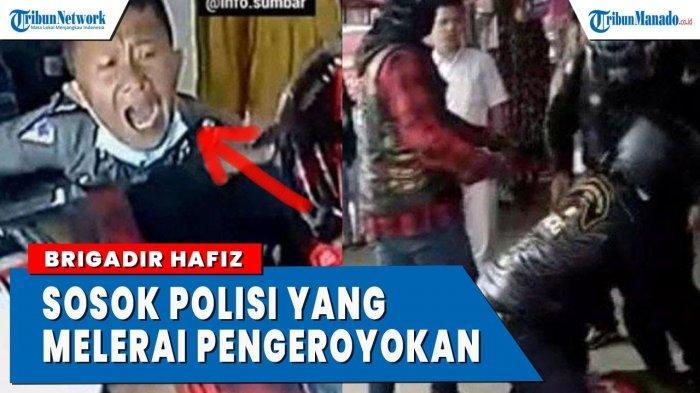 VIDEO Sosok Brigadir Hafiz, Polisi yang Lerai Pengeroyokon Anggota TNI