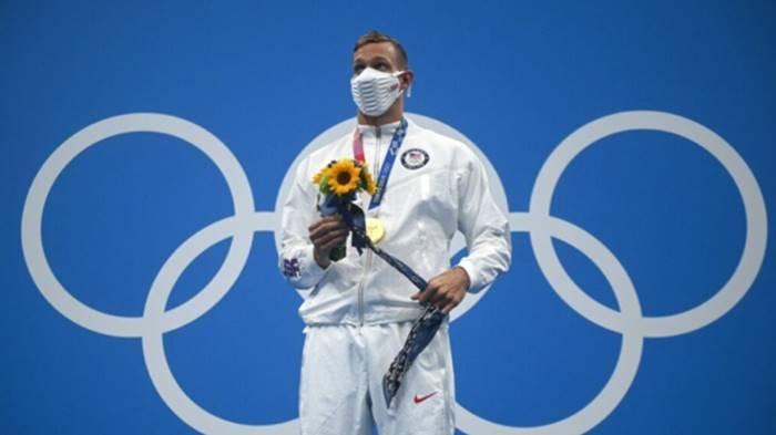 Caeleb Dressel Atlet Renang AS Peraih Medali Emas Terbanyak di Olimpiade Tokyo, Pecahkan 3 Rekor