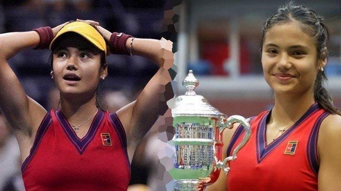 Sosok Emma Raducanu, Petenis Remaja Fenomenal yang Juarai US Open 2021, Dipuji Ratu Elizabeth II
