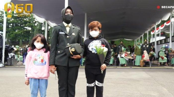 Sosok Letda Anisa Perwira TNI AD yang Dilantik Jenderal Andika Perkasa, Seorang Ibu Tunggal 2 Anak