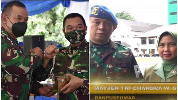 Sosok Mayjen TNI Chandra W Sukotjo, Baru Dilantik Jenderal Andika Jadi Danpuspomad, Ini Biodatanya